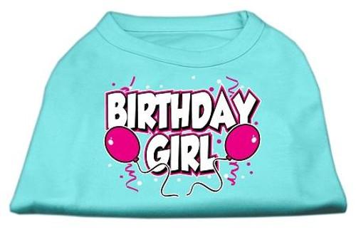 Birthday Girl Screen Print Shirts Aqua Xl (16) - 51-06 XLAQ