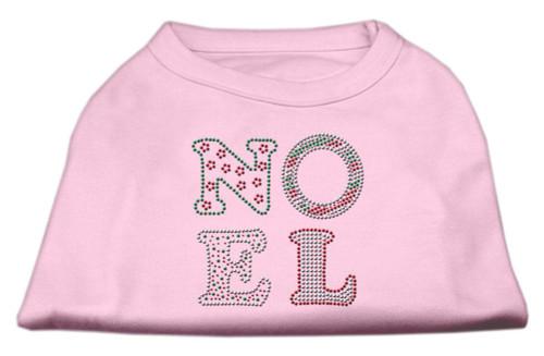 Noel Rhinestone Dog Shirt Light Pink Xxl (18)