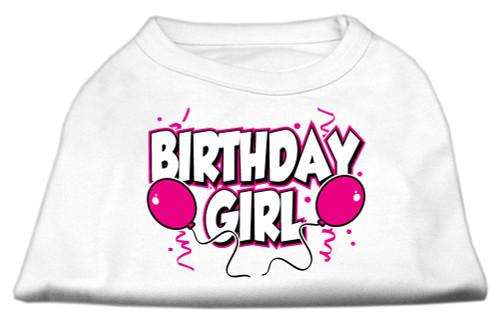 Birthday Girl Screen Print Shirts White Xl (16) - 51-06 XLWT
