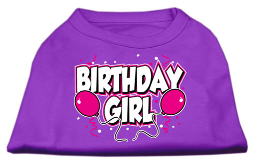 Birthday Girl Screen Print Shirts Purple Xl (16) - 51-06 XLPR