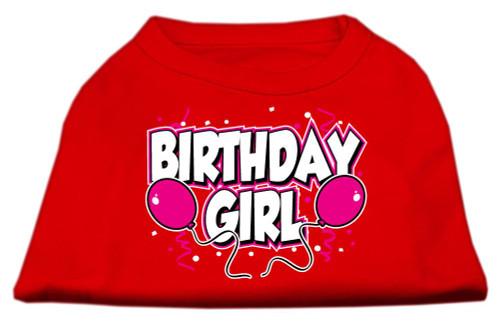 Birthday Girl Screen Print Shirts Red Xl (16) - 51-06 XLRD