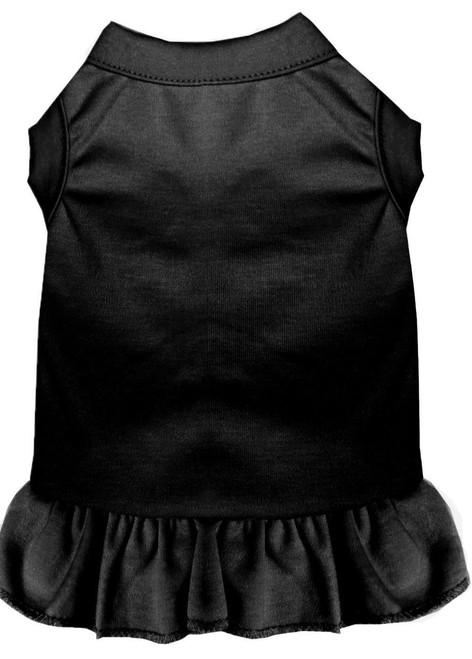 Plain Pet Dress Black Xs (8)