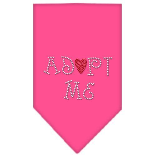 Adopt Me Rhinestone Bandana Bright Pink Large