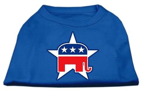 Republican Screen Print Shirts Blue Xl (16)