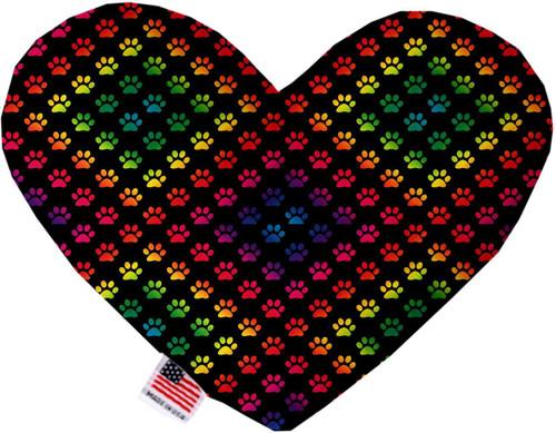 Rainbow Paws 8 Inch Heart Dog Toy