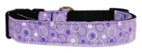 Retro Nylon Ribbon Collar Lavender Sm - 125-003 SMPR
