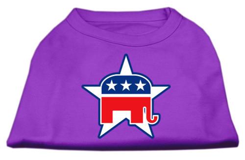 Republican Screen Print Shirts  Purple Xl (16)