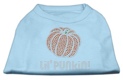 Lil' Punkin' Rhinestone Shirts Baby Blue Xs (8)