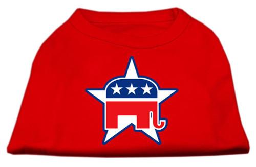 Republican Screen Print Shirts  Red Xl (16)