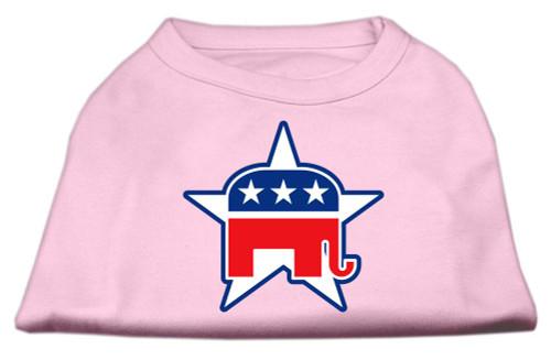 Republican Screen Print Shirts  Light Pink M (12)