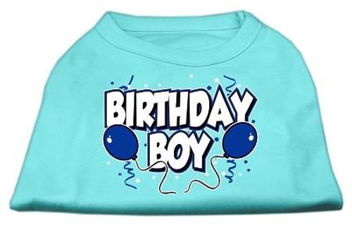 Birthday Boy Screen Print Shirts Aqua Med (12) - 51-05 MDAQ