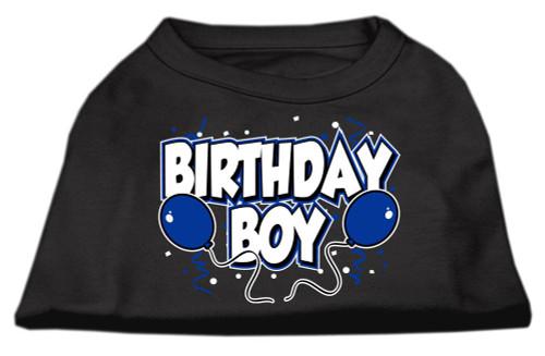 Birthday Boy Screen Print Shirts Black  Med (12) - 51-05 MDBK