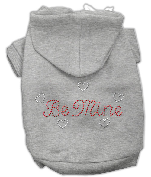 Be Mine Hoodies Grey Xl (16)
