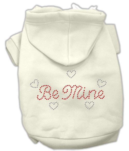 Be Mine Hoodies Cream Xl (16)