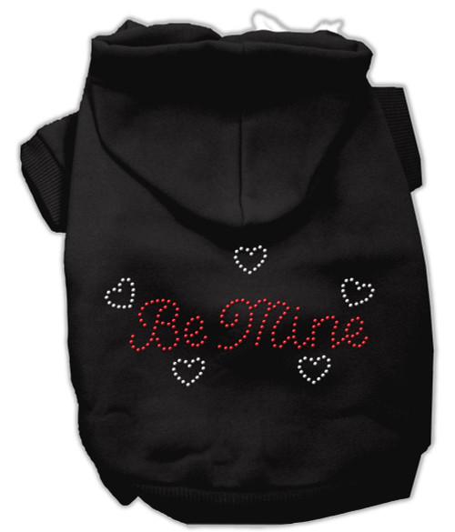Be Mine Hoodies Black Xl (16)