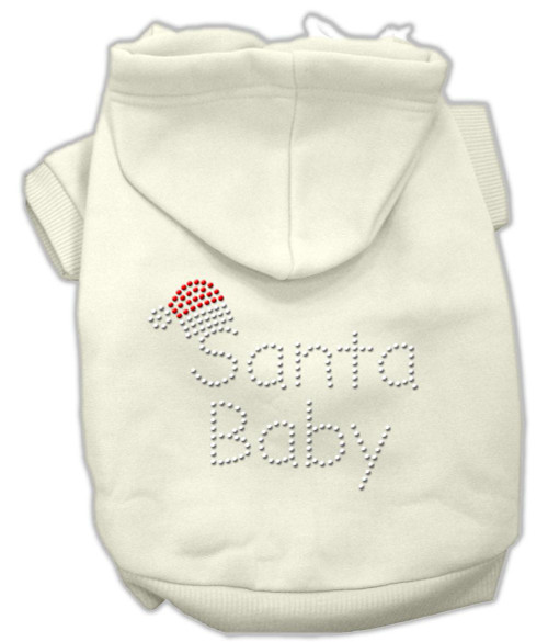 Santa Baby Hoodies Cream L (14)
