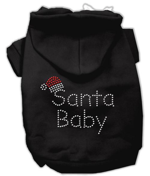 Santa Baby Hoodies Black L (14)