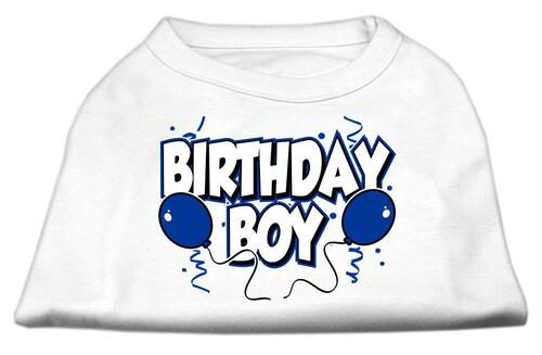 Birthday Boy Screen Print Shirts White Med (12) - 51-05 MDWT