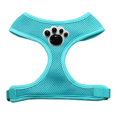 Black Paws Chipper Aqua Harness Large