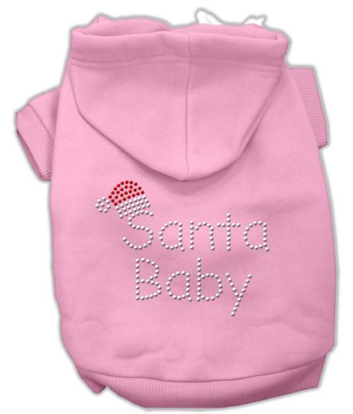 Santa Baby Hoodies Pink L (14)