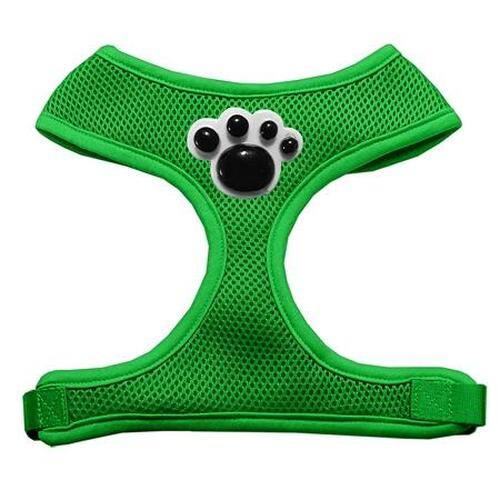 Black Paws Chipper Emerald Harness Large