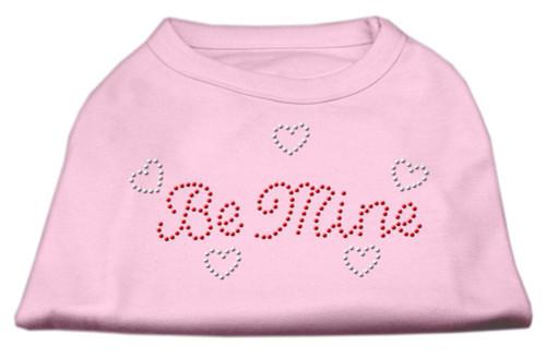 Be Mine Rhinestone Shirts Light Pink Xs (8)
