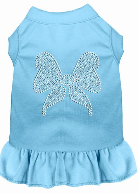 Rhinestone Bow Dress Baby Blue Xxxl (20)