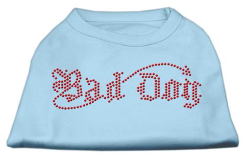 Bad Dog Rhinestone Shirts Baby Blue Xxl (18)