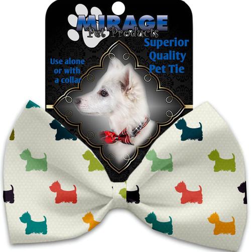It Is A Westie's World Pet Bow Tie