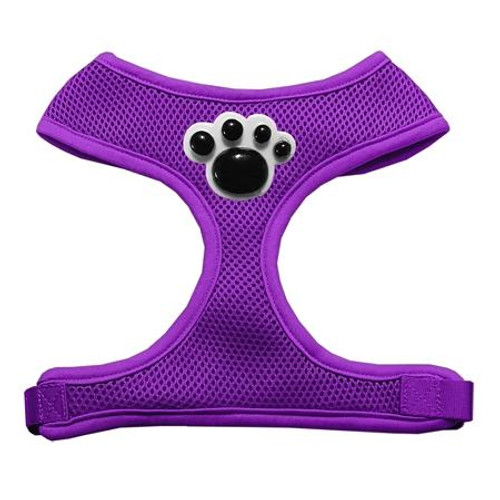 Black Paws Chipper Purple Harness Large