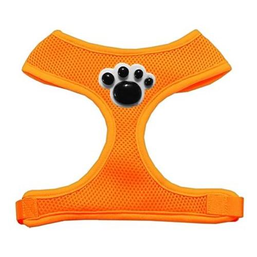 Black Paws Chipper Orange Harness Large