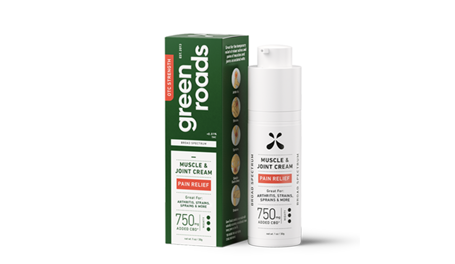 Pain Relief Cream - 750mg