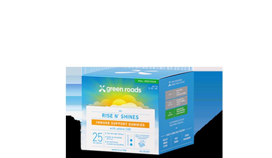 Rise N' Shines Immune Support Gummies (30ct) - 750mg