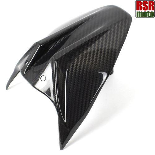 KTM Duke 790 890 R Carbon Fibre Rear Hugger Mudguard Fender, 2018 Onwards (Twill Gloss) | RSR Moto