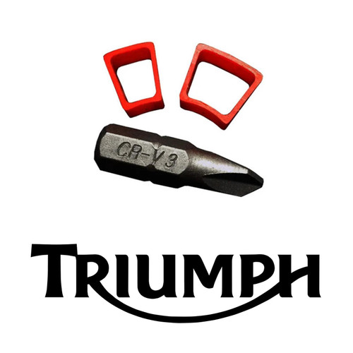 Triumph Thruxton R / RS Street Twin Street Cup Throttle Spacers, 2016 Onwards
