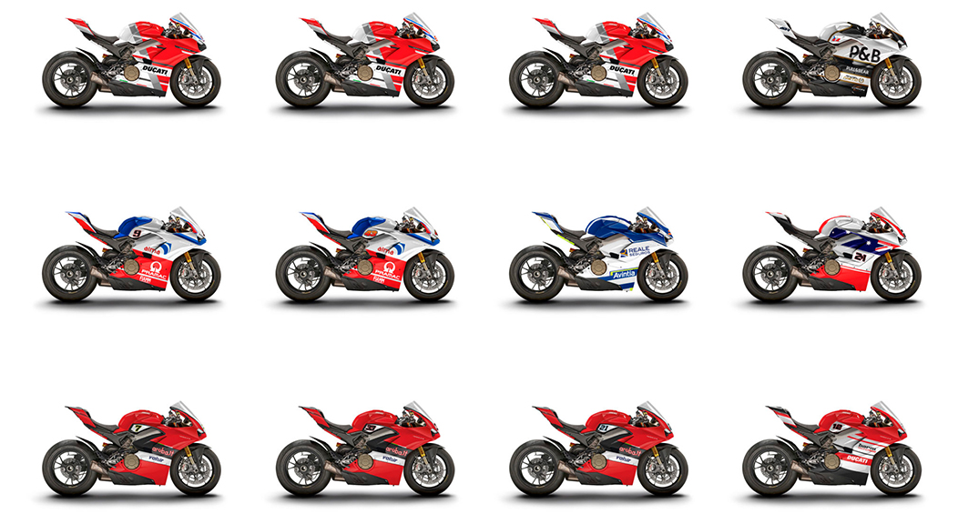 WDW Celebrity Racer Panigale Auction
