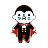 These Are Things Enamel Pin - Vampire