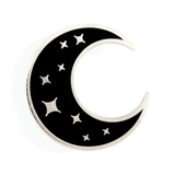 These Are Things Enamel Pin - Crescent Moon