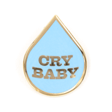 These Are Things Enamel Pin - Cry Baby