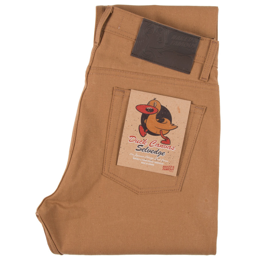 Weird Guy - Duck Canvas Selvedge