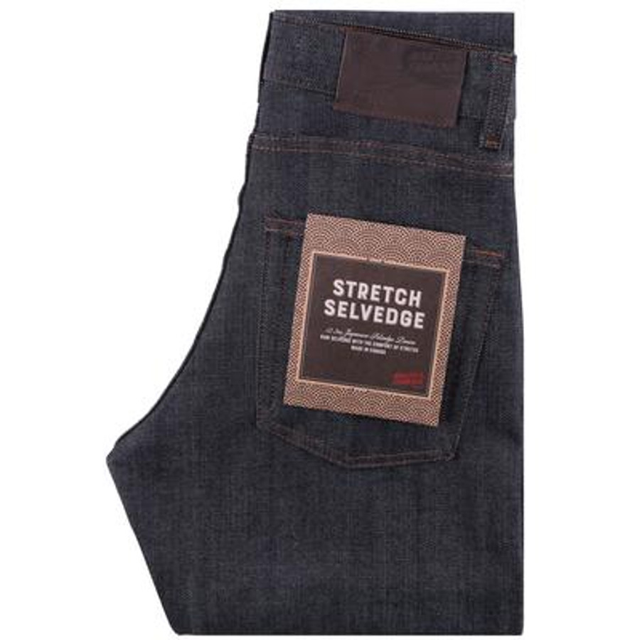 The Max - Stretch Selvedge Raw Denim