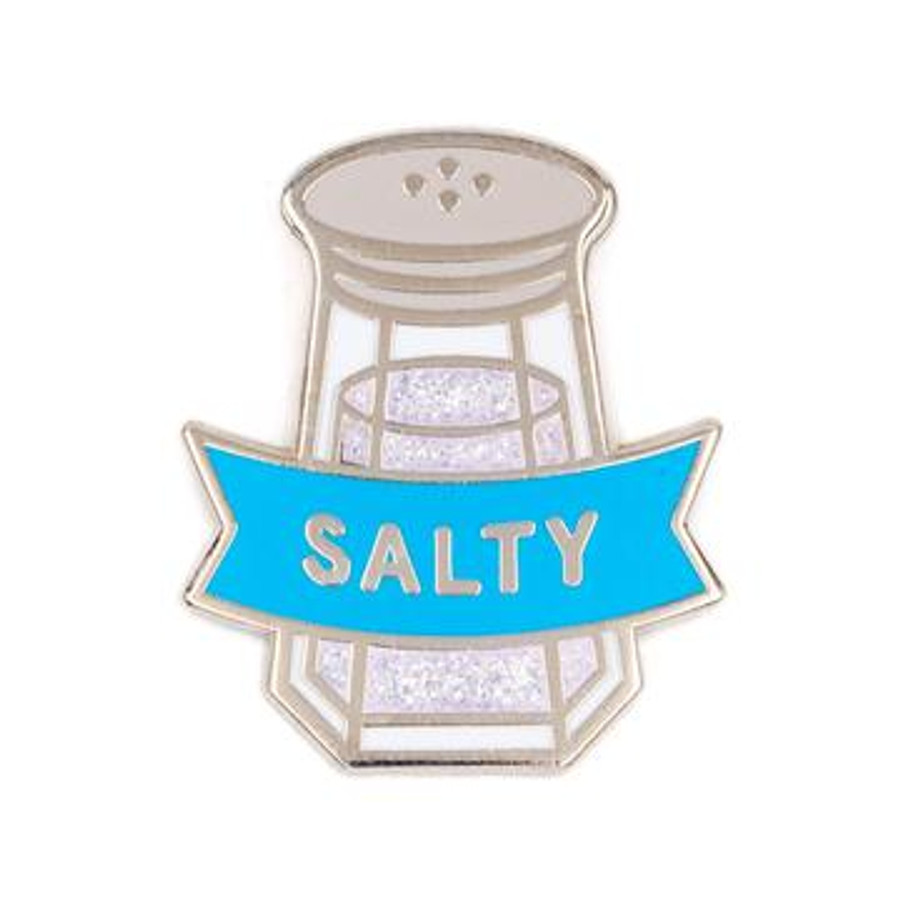 These Are Things Enamel Pin - Salty