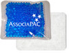 "4.5"" x 4.5"" Custom Imprinted, ""Cloth-Backed"" Gel Bead Cold/Hot Therapy Packs.  100 per case. Sold by the case."