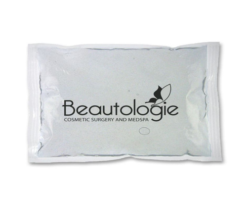 Large clear custom imprinted reusable ice pack