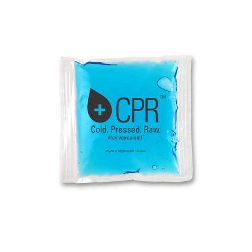 """4.5"""" x 4.5"""" Custom Imprinted, """"Freeze-Solid"""" Ice Packs.  100 per case. Sold by the case."""