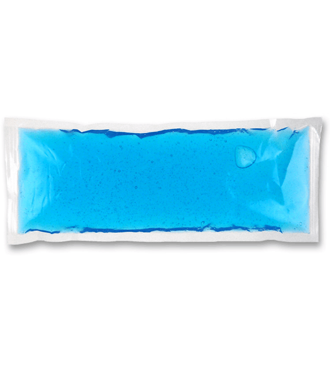 """4.5"""" x 8""""  blue freezer ice pack. Mainly for use in coolers."""