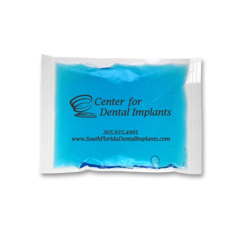 Custom Imprinted Ice Pack. 4.5 x 6. 75/cs