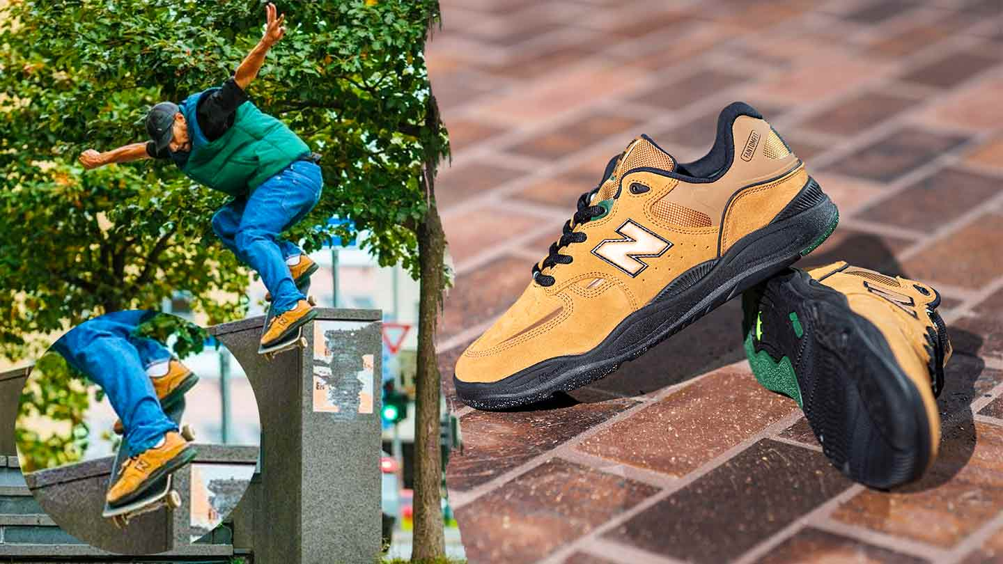 Introducing The Brown/Black Numeric 1010 from New Balance x Tiago ...