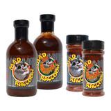 Mad Raccoon Gift Pack (2-Sauce, 2-Rub)