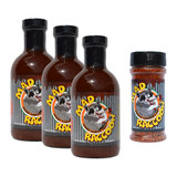 Mad Raccoon Original Gift Pack (3-Sauce, 1-Rub)